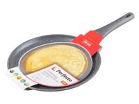 Сковорода блинная ф 28х2.5 см, алюм., антиприг. покр., для индукц. плит, серия Grey, PERFECTO LINEA