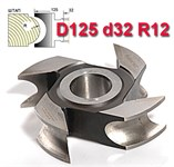 Фреза штап (затыл. радиусная) ДФ-10.125.32.12 Р6М5