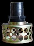 Фильтр заборный для грязной воды, крепление ф 80 мм, ячейки ф 28 мм KIRK