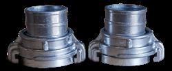 Фитинги соединительные под ф 80 мм KIRK (набор/2шт)