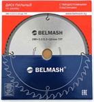 Диск пильный BELMASH 280x32(30)x72T 3,2/2,2 мм