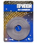 Припой ПОС-61 проволока, спираль ф 1 мм, длина 1 м, Векта