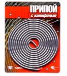 Припой ПОС 61 трубка, спираль ф 2 мм, длина 1 м, с канифолью, Векта