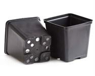Горшок для рассады квадратный 11*11*11 см (1л)  литой