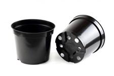 Горшок для рассады D 14 см (высота 10,6 см, объем 1л) литой