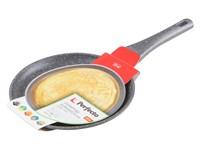 Сковорода блинная 24х2,5 см для индукционных плит, серия Grey, PERFECTO LINEA