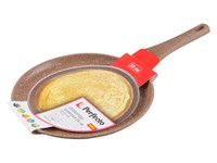 Сковорода блинная 28х2,5 см для керамических, электрических, газовых плит, серия Red, PERFECTO LINEA