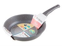 Сковорода 26х6 см для индукционных плит, серия Grey, PERFECTO LINEA