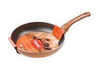 Сковорода 24х5 см для керамических, электрических, газовых плит, серия Cinnamon, FEST