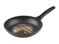 Сковорода 24х4,7 см для керамических, электрических, газовых плит, серия Marble Exclusive, PERFECTO LINEA