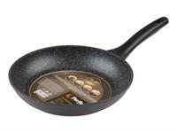 Сковорода 26х4,8 см для керамических, электрических, газовых плит, серия Marble Exclusive, PERFECTO LINEA