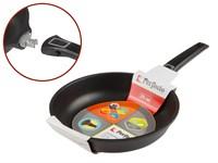 Сковорода 26х6 см для любых типов плит, серия Expert Grip Induction, PERFECTO LINEA
