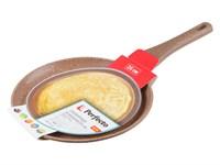 Сковорода блинная 26х2,5 см, серия Red, PERFECTO LINEA