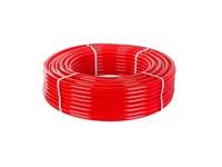 Труба полимерная 16(2,0) PEX TRITERM бухта 100 м красная Unidelta