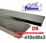 Нож строгальный   410х40х3  DS  Pilana