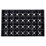 Кассета для рассады пластмасс, квадратн, 28 ячеек, 250 мл, PERFECTO LINEA (515x335x75 мм)