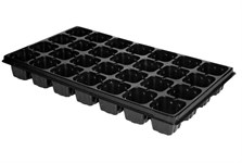 Кассета для рассады пластмас, квадратн, 28 ячеек, 137 мл, PERFECTO LINEA (502х288х61 мм)