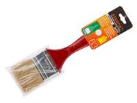 """Кисть плоская 1""""-25 мм, STARTUL MASTER (флейцевая малярная для ЛКМ на масляной основе, густых лаков, олифы, эмалей)"""
