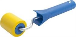 Валик прижимной 5 см d 36 мм, резиновый, С РУЧКОЙ, LIDER