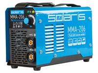 Инвертор сварочный SOLARIS MMA-206 (230 В; 20-200 А; 65 В; электроды диам. 1.6-4.0 мм)
