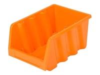 Лоток для метизов 390х240х180 мм (оранж.) (IDEA)