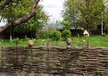 Забор (плетень) из орешника 200х30 см