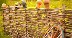 Забор (плетень) из орешника 200х100 см