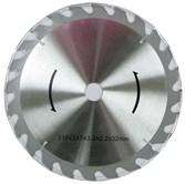 Диск пильный Ø315x30 мм, 24 зуба (с твердоспл. напайками)