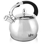 Чайник 2,5 л, нерж. сталь, матовый LARA LR00-10