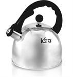 Чайник 2,5 л, нерж. сталь, зеркальный LARA LR00-05