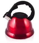 Чайник 3,2 л, нерж. сталь, красный LARA LR00-07