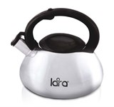 Чайник 3 л, нерж. сталь, зеркальный LARA LR00-12
