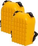 Наколенники защитные, полиуретан, желтые KERN