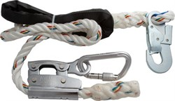 Удерживающий строп AB 04, регул. длина, до 2м, диаметр 16 мм, защитная накладка, Honeywell