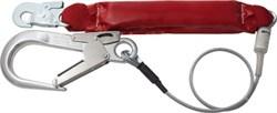 Страховочный строп BFD, оцинков.стальной трос, диам.6мм, ленточн.амортизатор, 1,2кг, Honeywell