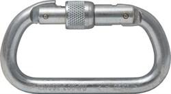 Карабин CS20, сталь, винтовой замок, раскрытие 17мм, 25кН, 165г, Honeywell