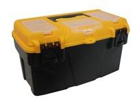 """Ящик для инструмента пластмассовый ТИТАН 41х21,5х19,7 см (16"""") с секциями"""