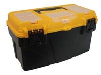 """Ящик для инструмента пластмассовый ТИТАН 43х23,5х25 см (18"""") с секциями"""