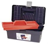 Ящик для инструмента пластмассовый 35,6x19,2x15 см (с лотком) TAYG