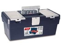Ящик для инструмента пластмассовый 40x21,7x16,6 см (с лотком) TAYG