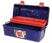 Ящик для инструмента пластмассовый 35,6x18,4x16,3 см (с лотком) TAYG