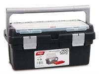 Ящик для инструмента пластмассовый 40x22,5x19 см (с лотком) TAYG