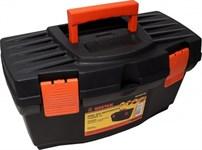Ящик для инструментов 16'' пластм, 41х22х23 см, внутр. лоток МОНТАЖ