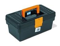 Ящик для инструмента пластмассовый Basic Line 29x17x12,7 см (с лотком) TAYG