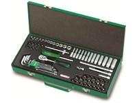 Кейс металлический для наборов-сетов 445х188 мм TOPTUL