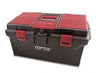 Ящик для инструмента пластмассовый 556х278х270 мм TOPTUL