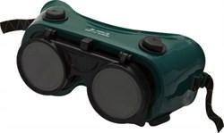 Очки защитные закрытые, темно-зеленые, для газосварки, ст.затемн.5DIN, непрямая вентиляция KERN
