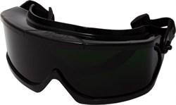Очки защитные закрытые, затемн. 5 DIN (Г2), покр.от царап и запот., защ от раскал частиц, V-Maxx