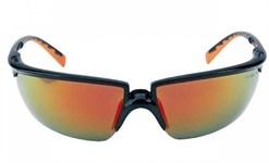 Очки защитные открытые 3M SOLUS (Красная линза)