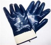 Перчатки нитриловые полн. покрытие (манжет крага) №10